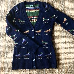 HWR Anthropologie Duck Sweater 🦆